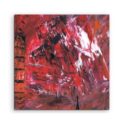 PaulSinusArt Enigma Abstrakt 584 Painting Print on Canvas