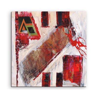 PaulSinusArt Enigma Abstrakt 588 Painting Print on Canvas