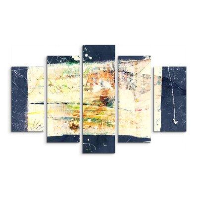 PaulSinusArt Enigma Abstrakt 1411 Painting Print on Canvas Set