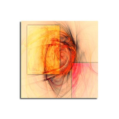 PaulSinusArt Enigma Abstrakt 112 Painting Print on Canvas
