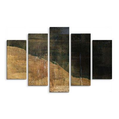 PaulSinusArt Enigma Abstrakt 818 Painting Print on Canvas Set