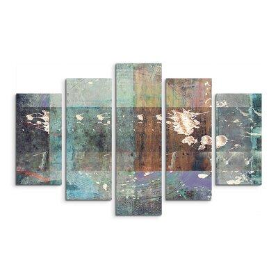 PaulSinusArt Enigma Abstrakt 822 Painting Print on Canvas Set