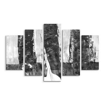 PaulSinusArt Enigma Abstrakt 501 Painting Print on Canvas Set
