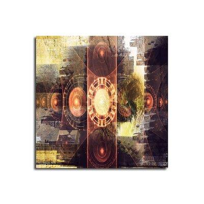 PaulSinusArt Enigma Abstrakt 467 Painting Print on Canvas