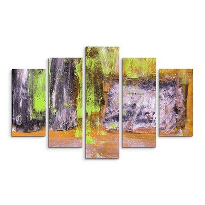 PaulSinusArt Enigma Abstrakt 902 Painting Print on Canvas Set
