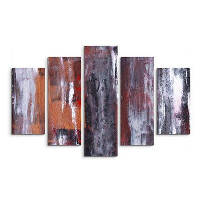 PaulSinusArt Enigma Abstrakt 904 Painting Print on Canvas Set