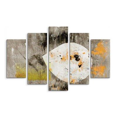 PaulSinusArt Enigma Abstrakt 911 Painting Print on Canvas Set