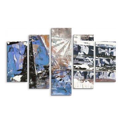 PaulSinusArt Enigma Abstrakt 539 Painting Print on Canvas Set