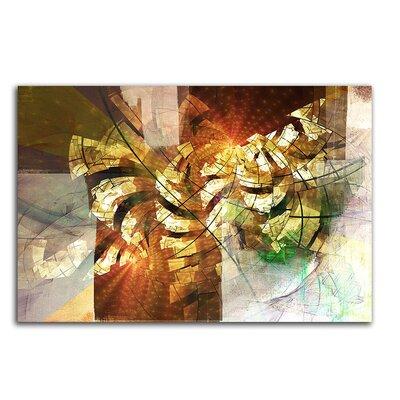 PaulSinusArt Enigma Abstrakt 408 Painting Print on Canvas