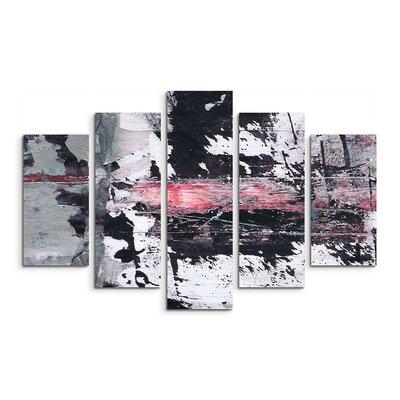 PaulSinusArt Enigma Abstrakt 883 Painting Print on Canvas Set