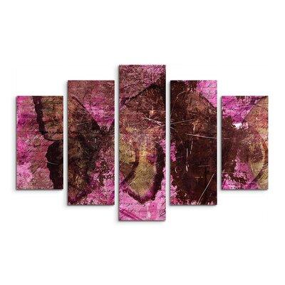 PaulSinusArt Enigma Abstrakt 884 Painting Print on Canvas Set