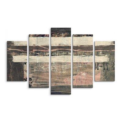 PaulSinusArt Enigma Abstrakt 511 Painting Print on Canvas Set