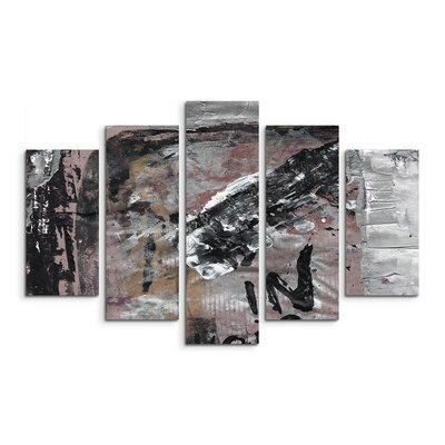 PaulSinusArt Enigma Abstrakt 701 Painting Print on Canvas Set