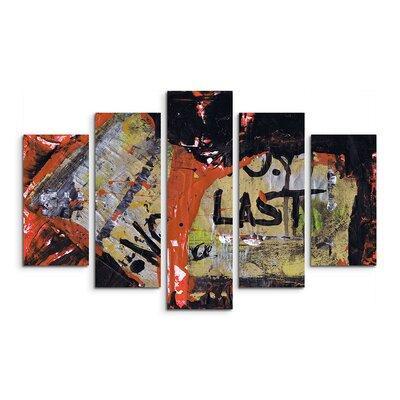 PaulSinusArt Enigma Abstrakt 710 Painting Print on Canvas Set