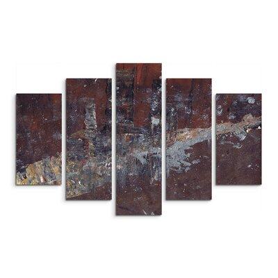 PaulSinusArt Enigma Abstrakt 921 Painting Print on Canvas Set
