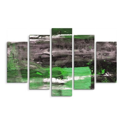 PaulSinusArt Enigma Abstrakt 932 Painting Print on Canvas Set