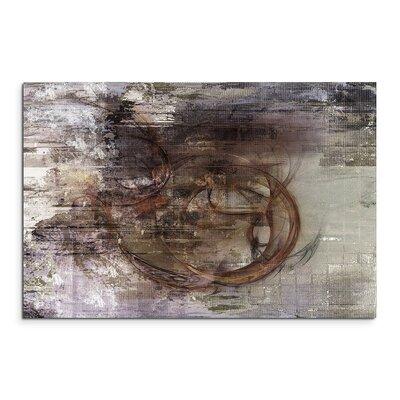 PaulSinusArt Enigma Abstrakt 1366 Painting Print on Canvas