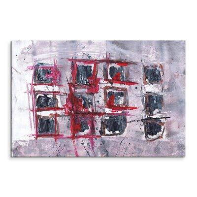 PaulSinusArt Enigma Abstrakt 568 Painting Print on Canvas