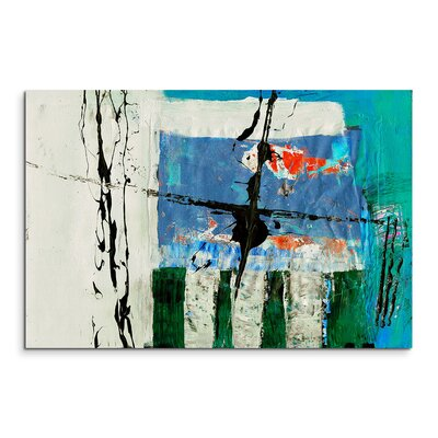 PaulSinusArt Enigma Abstrakt 573 Painting Print on Canvas