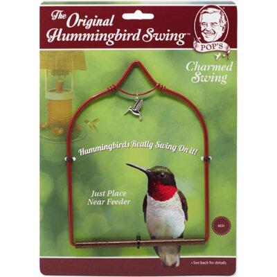 Hummingbird Swing Color: Red
