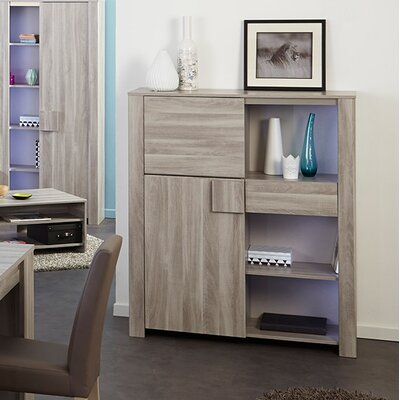 Welty Accent Cabinet Color: Silex