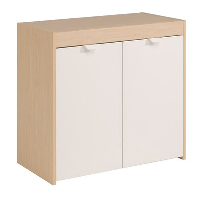 Jive Storage Accent Cabinet Color: Oak