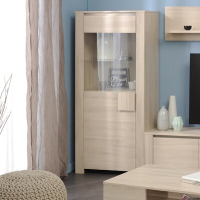 Welty Modern Accent Cabinet Color: Sesame