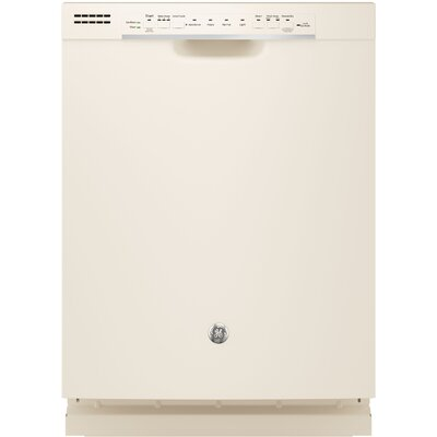 "24"" 54 dBA Built-In Dishwasher with Front Controls Finish: Bisque"