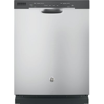 "24"" 54 dBA Built-In Dishwasher with Front Controls Finish: Stainless Steel"