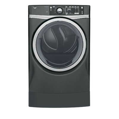 8.3 cu. ft. High Efficiency Electric Dryer with Steam Color: Gray