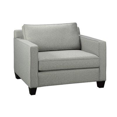 Gavin Armchair Upholstery: Zinc