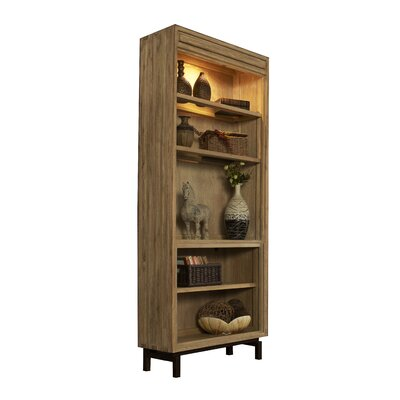 Blair Standard Bookcase Color: Weathered Vellum