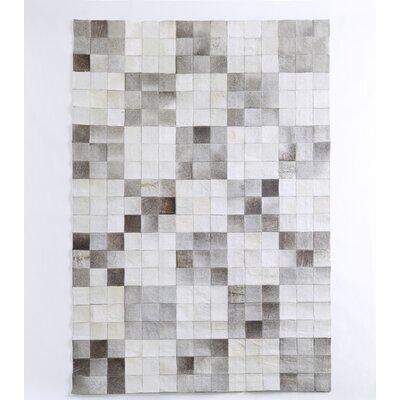 HOME SPIRIT Harris Grey/White Rug
