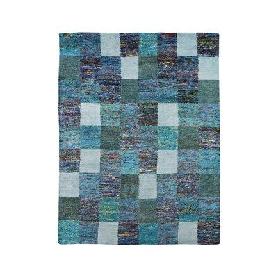 HOME SPIRIT Sari Turquoise Rug