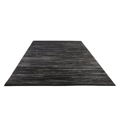 HOME SPIRIT Sand Black Rug