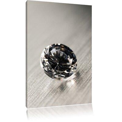 Pixxprint Small Diamond Photographic Print on Canvas