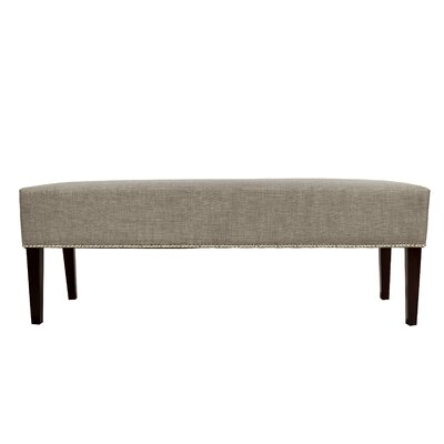 Woodside Fabric Storage Bench Color: Khaki