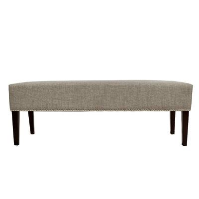Woodside Fabric Storage Bench Color: Khaki