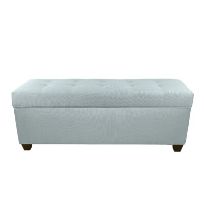 Hayworth Button Tufted Upholstered Storage Bench Upholstery Color: Sea Mist