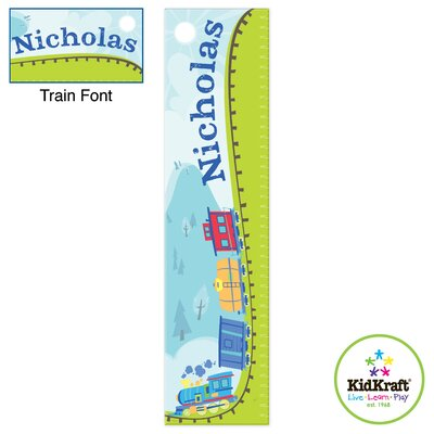 KidKraft Personalized Train Growth Chart