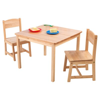 KidKraft Aspen Kids 3 Piece Table and Chair Set