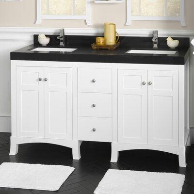 "Ronbow Hampton 24"" Bathroom Vanity Cabinet Base in White"