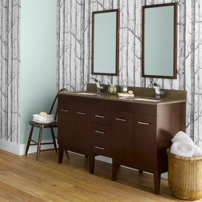 """Venus 59"""" Double Bathroom Vanity Set"""