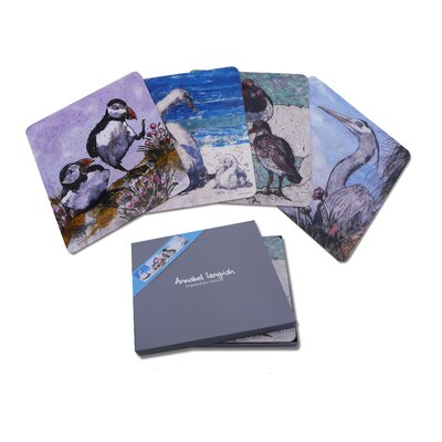 AnnabelLangrish Sea Birds Coaster Set