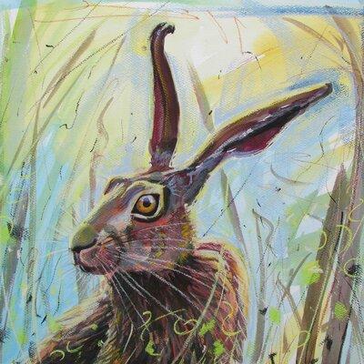 AnnabelLangrish Morning Hare by Annabel Langrish Graphic Art