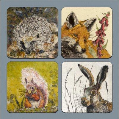AnnabelLangrish Wildlife Placemat Set
