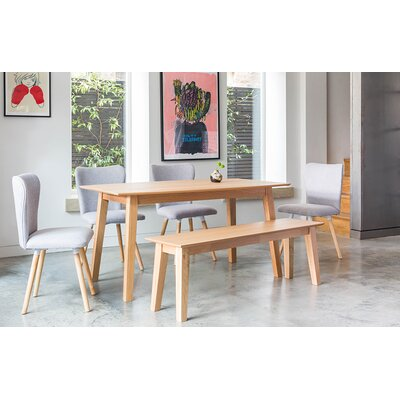 OutAndOutOriginal Dover Dining Table and 4 Chairs and Bench