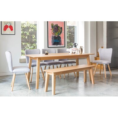 OutAndOutOriginal Dover Dining Table and 5 Chairs and Bench