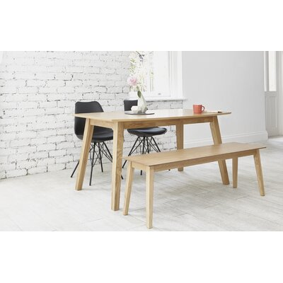OutAndOutOriginal Indiana Dining Table and 2 Chairs and Bench