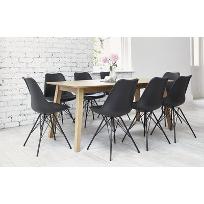 OutAndOutOriginal Indiana Dining Table and 8 Chairs